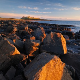 Dunstanburgh Castle, First Light
