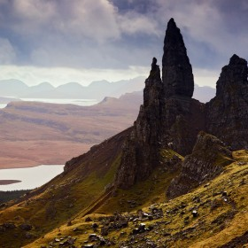 The Old Man of Storr, Trotternish Ridge, Isle of Skye, Scotland.