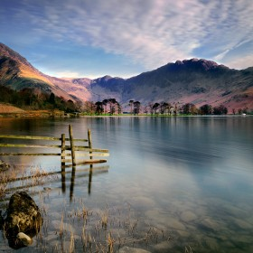 Lake Buttermere, Lake District, Cumbria, England.