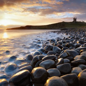 Sunrise, Dunstanburgh Castle