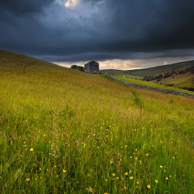 Angry Clouds, Swaledale Meadows