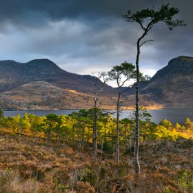 A morning spent on the Beinn Eighe trail shooting Slioch to the south.