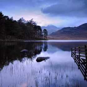 Twilight, Blea Tarn, Lake District National Park.