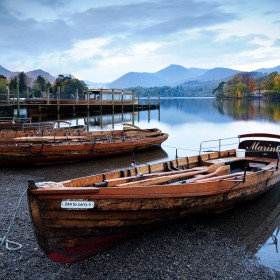 Derwent Water, Lake District National Park, Cumbria.
