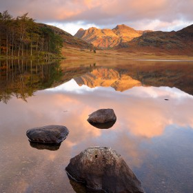 Blea Tarn taken at sunrise, Lake District National Park, Cumbria.