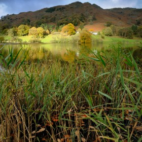 Loughrigg Tarn, Autumn