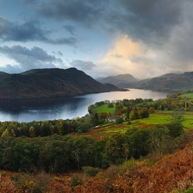 Ullswater, Autumn Morning, Lake District National Park.