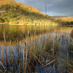 Rydal Water, Lake District National Park, Cumbria, England.