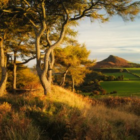 Roseberry Topping, North Yorkshire, England.