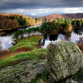 Tarn Hows, Lake District, Cumbria, England.