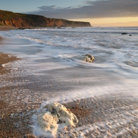 Dawn, Easington Beach, County Durham.