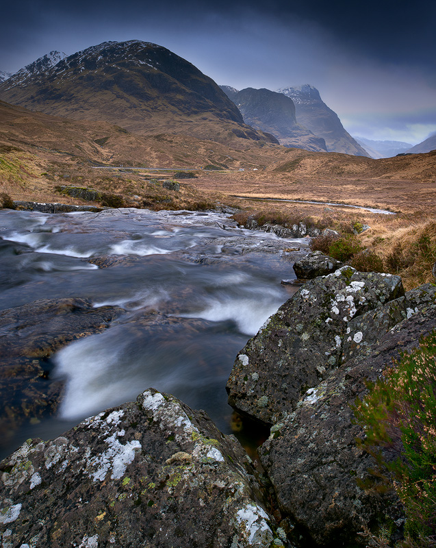 River Coe & The Three Sisters