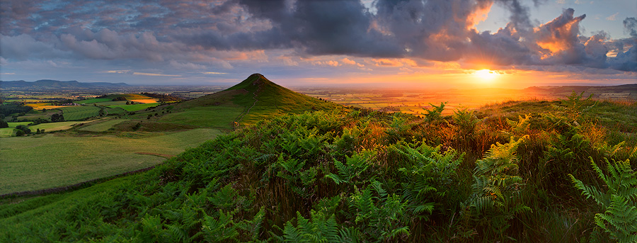 Evening Sun, Roseberry Topping