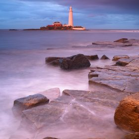 Encroaching Storm Clouds, St Mary's Lighthouse