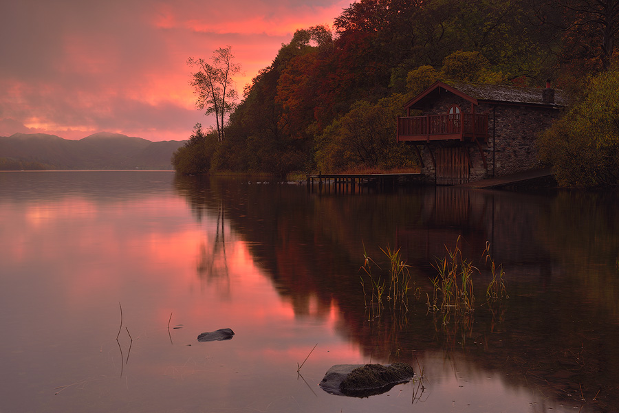 Autumn Reflections, Duke of Portland Boathouse