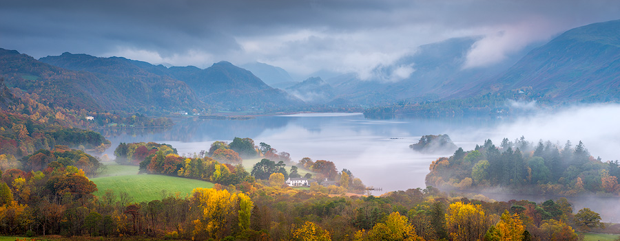Clearing Mist, Derwent Water