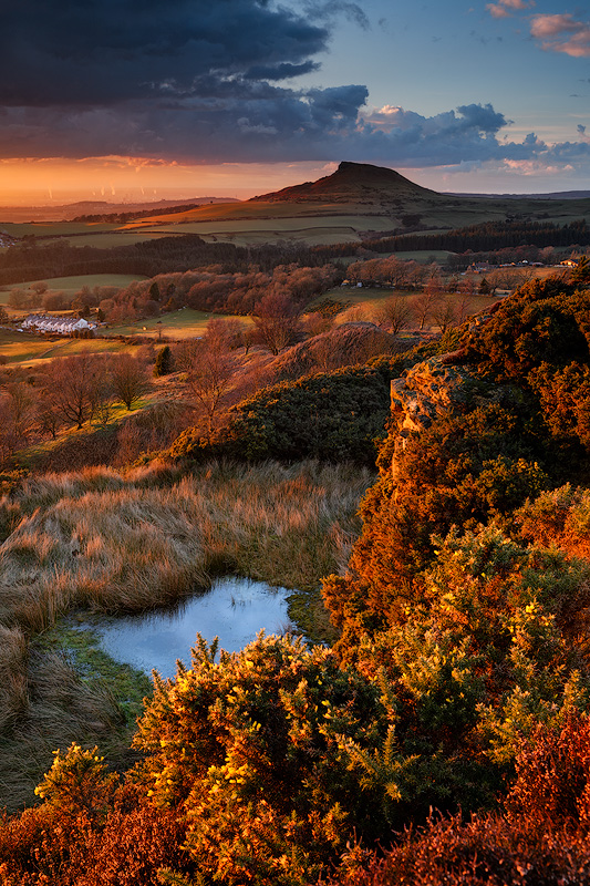 Passing Storm, Roseberry Topping